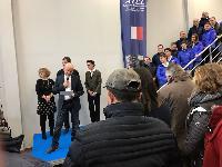Photo n° 46486Inauguration ATEL 2018 - photo Didier CressentAffichée 20 fois, 1 voteAjoutée le 29/12/2018 09:06:44 par JeanClaudeGrognet--> Cliquer pour agrandir <--